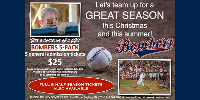 Bombers 5-Pack Tickets Now Available