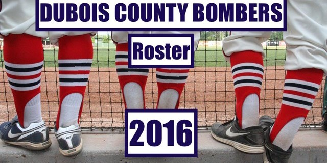 2016 Bombers Roster