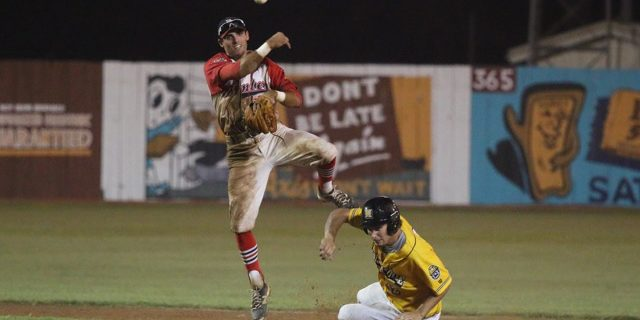 Bombers & Miners Split Doubleheader On 23rd
