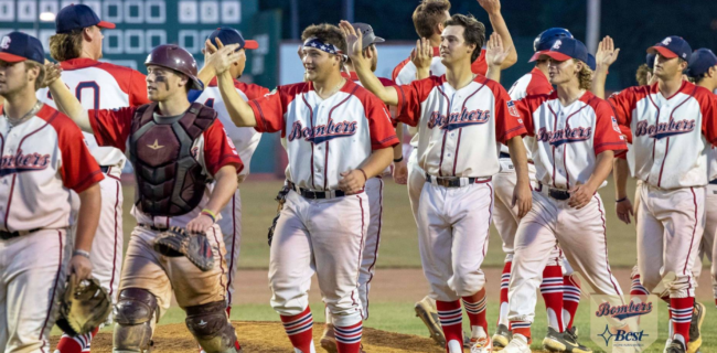Bombers Sweep Henderson, Advance to Championship